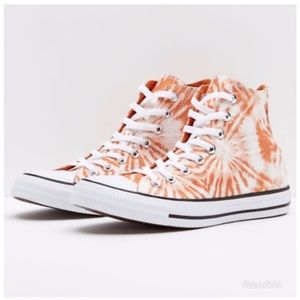 Converse CTAS Hi Tangelo Sneakers Orange White